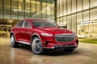 Кроссовер Mercedes-Maybach: четыре электромотора, голосовое управление и «золотые» кресла