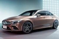 Mercedes показал компактный седан на базе нового A-Class