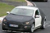 Шпионы поймали новый VW Scirocco