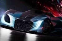 В Пекине дебютировал 1360-сильный электрокар DS X E-Tense Concept