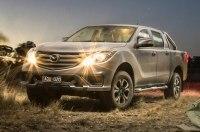 Mazda официально представила обновленный пикап BT-50