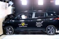 Новый Nissan Leaf получил высшую оценку за краш-тест от Euro NCAP