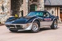 Единственную в мире коллекцию пейс-каров Chevrolet Corvette продадут с молотка