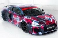 Ателье ABT превратило Audi R8 в арт-кар