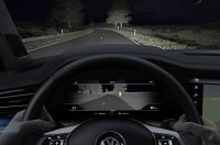 Volkswagen рассказал о системе ночного видения Touareg