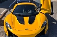 В Украине засняли редкий суперкар McLaren с тюнингом