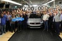 Завод Volkswagen в Чаттануге выпустил 700 000-й седан Passat