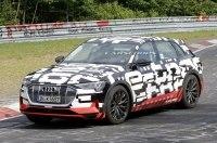 Audi вывела на финальные тесты первый электрический кроссовер