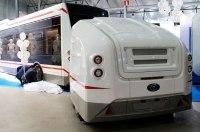 Показан электробус с самым необычным расположением батарей