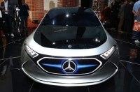 Новый электрокар Mercedes получит французскую прописку