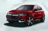 Кроссовер Chevrolet Tracker нового поколения: первые изображения