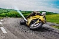 Bosch будет спасать мотоциклы от падения при помощи «реактивных двигателей»
