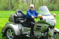 91-летняя мотоциклистка Мириам Бергер Лэйшуэ