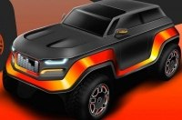 Школьники нарисовали внедорожник Jeep 2030 года выпуска