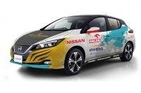 Марек Каминский попробует добраться из Польши до Японии на электромобиле Nissan Leaf