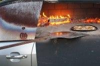 Универсал Ford Mondeo превратили в дровяную печь для пиццы