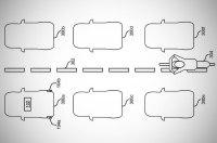Ford придумал, как не сбивать мотоциклистов между рядами