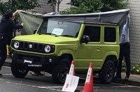 Внешность нового Suzuki Jimny раскрыли перед премьерой