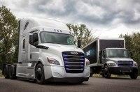 Американская фирма Freightliner представила два электрических грузовика