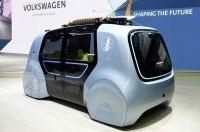 Volkswagen придумал машину для спортсменов. Она без водительского места