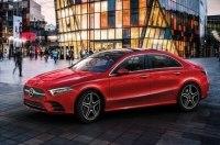 Mercedes-Benz показал европейскую версию седана A-Class нового поколения