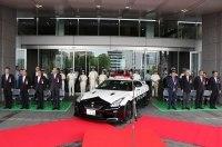 Nissan GT-R заступил на службу в полицию
