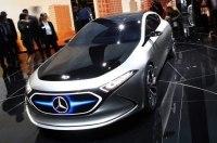 Mercedes тестирует компактный электромобиль