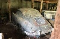 Спорткар Porsche, забытый на 40 лет в гараже, выставили на продажу