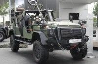 Mercedes-Benz построил военный «Гелик» без стекол и дверей