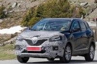 Обновленный Renault Kadjar попался в объективы фотошпионов