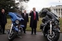 Мотоциклы Harley-Davidson погубит Дональд Трамп