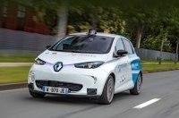 Renault запускает первый в Европе сервис беспилотных такси на электромобилях