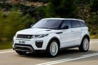 Новый Range Rover Evoque показали на видео