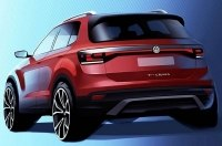 Volkswagen впервые показал новый кроссовер T-Cross
