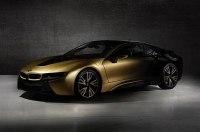 BMW i3 и i8 покрыли 24-каратным золотом