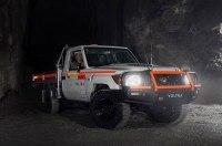 Toyota Land Cruiser 70 превратили в электрокар для шахт