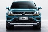 Появилось фото салона кроссовера VW Tharu