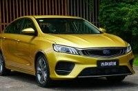 Geely Emgrand SL (Binrui): новый седан на ступеньку ниже флагмана