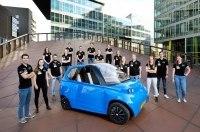 В Нидерландах построили автомобиль из льна и сахара