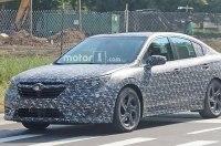 Subaru Legacy нового поколения замечен во время тестов