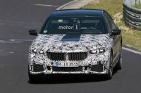 В сеть попали шпионские фото новой BMW 7-й серии