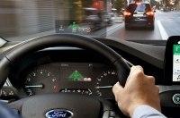 Ford сделал проекционный дисплей с покрытием от фотолинз