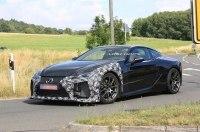 Новое спортивное купе Lexus LC F засекли на тестах в Германии