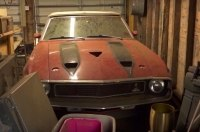 В заваленном хламом гараже нашли редкую модель Shelby