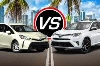 Статистика: украинские продажи гибридных Toyota RAV4 обогнали Prius