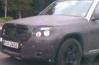 Mercedes-Benz GLK 2009 застали на трассе