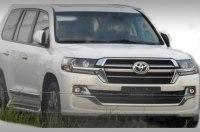 Обновленный Toyota Land Cruiser 200: первые фотографии
