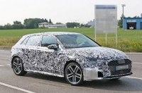 2019 Audi A3 нового поколения впервые попала в объективы