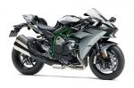 Гипербайк Kawasaki Ninja H2 2019: больше мощности и другие обновления