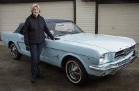 Семья 54 года хранила первый Ford Mustang. Теперь он стоит в 100 раз дороже